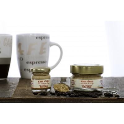 Beurre d'érable aux éclats de café 150g