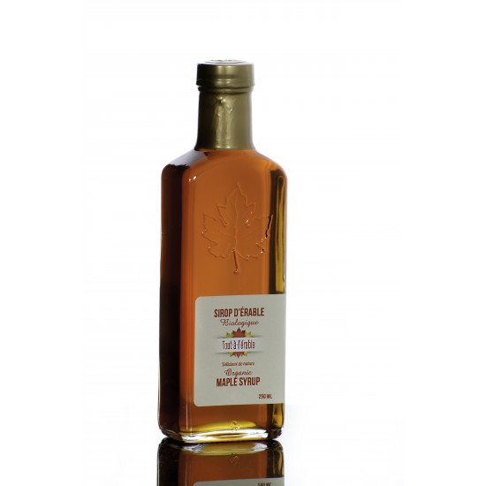 Sirop d'érable biologique grade clair 250 ml