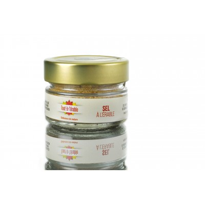 Fleur de sel à l'érable biologique 70g (to be translated)